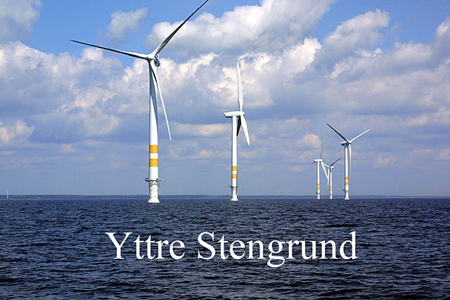 Yttre Stengrund is projected by Vindkompaniet and have 5 x 2 MWNEG ...